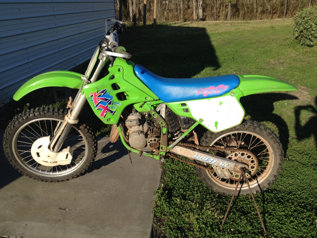 Img X on Honda Xr 250 2007